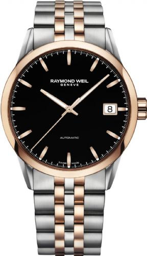 RAYMOND WEIL Freelancer Automatic Rose Gold Gents Watch 2740-SP5-20011